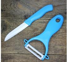 Керамический набор: нож и овощечистка